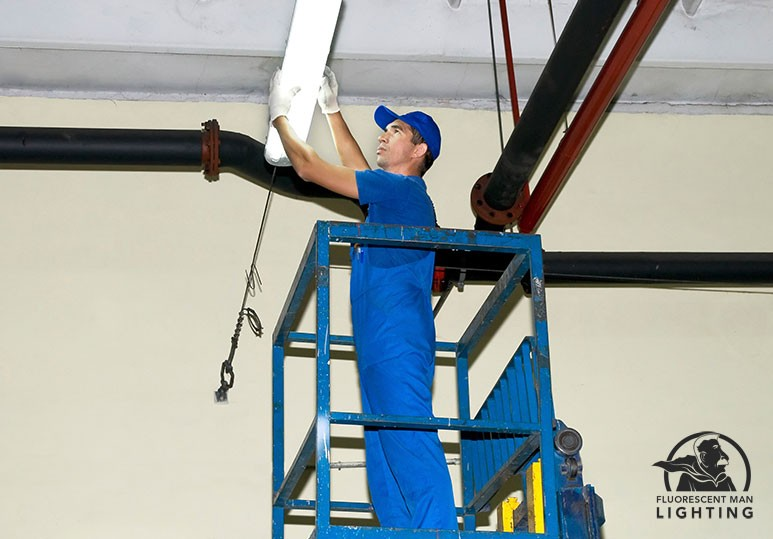 Fluorescent Man Lighting Offers On Call and Monthly Maintenance
