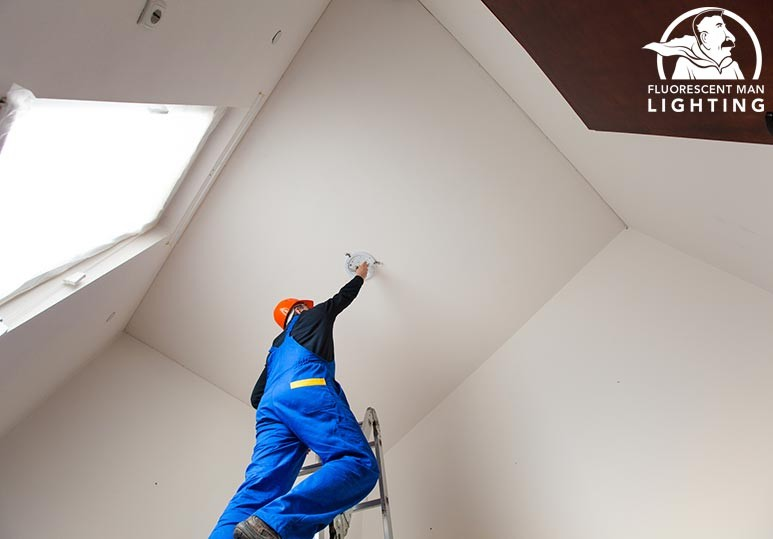 Fluorescent Man Lighting Calgary Keep Your Lighting Maintenance Procedures Up-To-Date