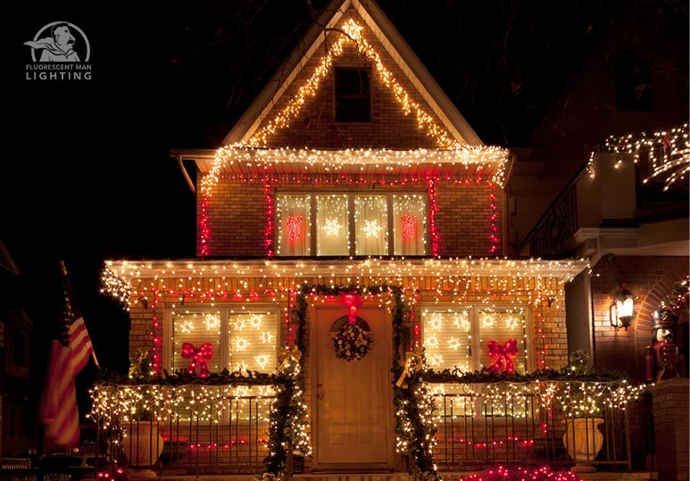 calgary exterior lighting calgary residential lighting - Residential Christmas Decorating Service